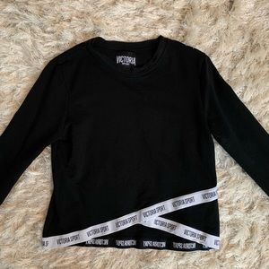 Victoria Secret Sport Cropped long sleeve shirt